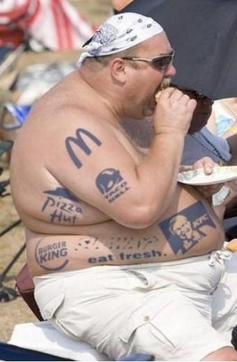 Zijn favouriete tatoo's
